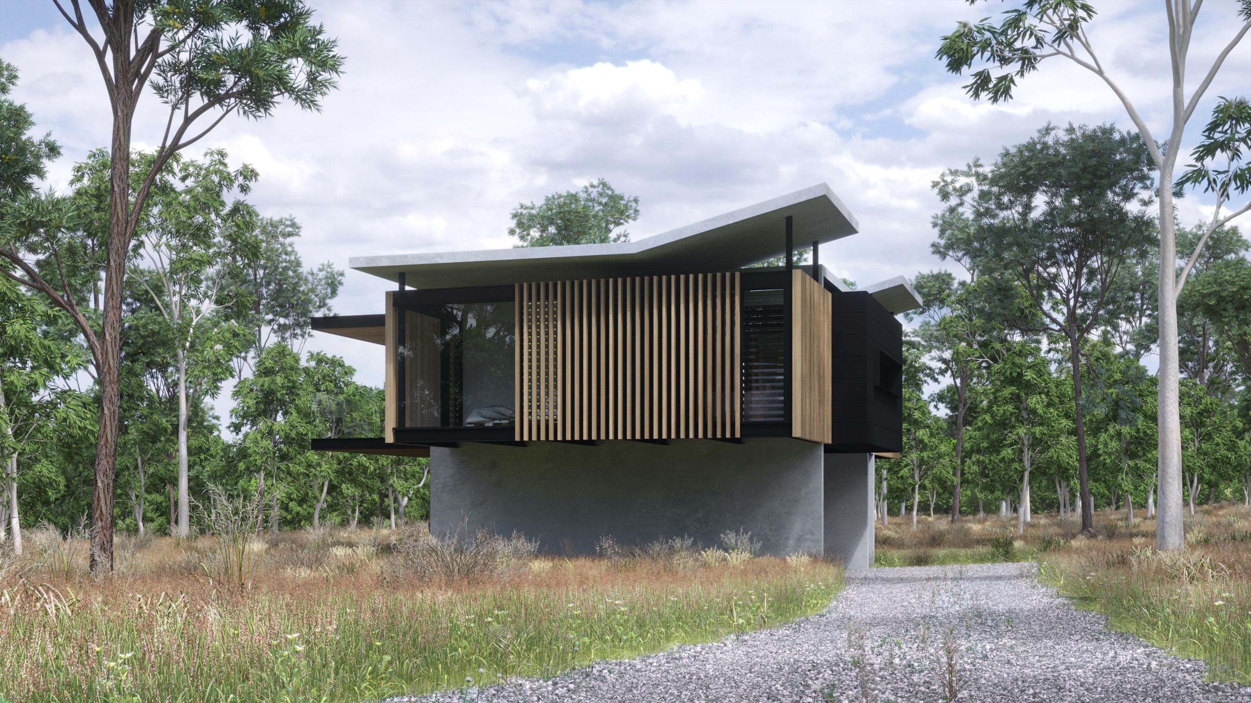 Modern queenslander zauss house - Modern queenslander home designs ...