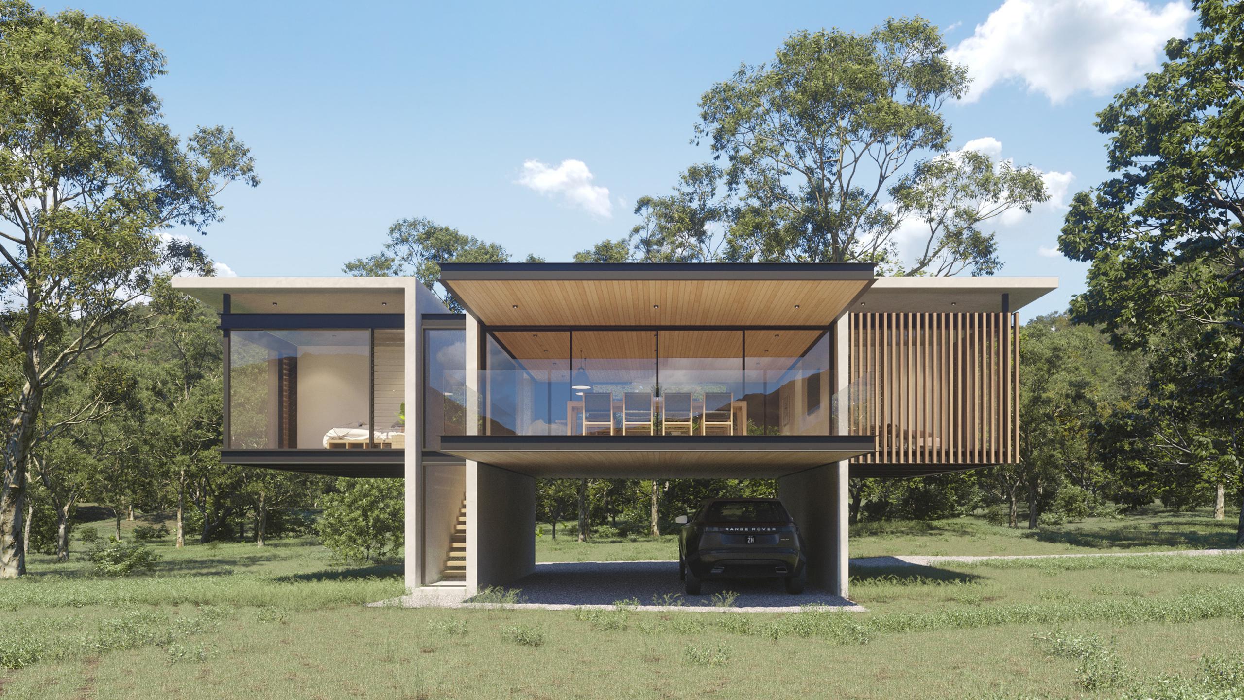 MODERN QUEENSLANDER - Zauss House